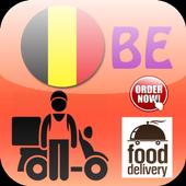 Belgium Food Delivery icon