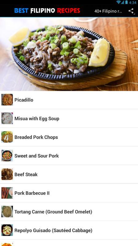 40 filipino recipes food apk download free food drink app for 40 filipino recipes food apk screenshot forumfinder Choice Image