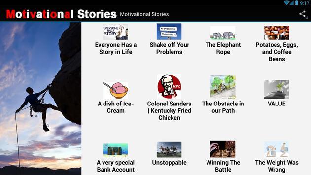 Motivational Stories apk screenshot