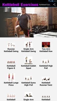 Kettlebell Exercises poster
