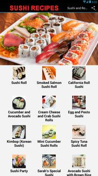 Sushi And Rolls Recipes poster