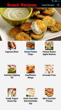 Snack Recipes screenshot 1