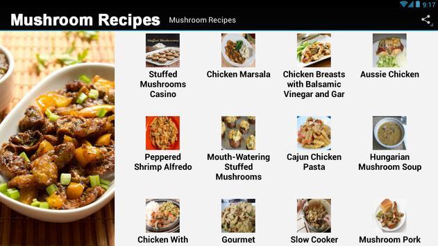 Mushroom Recipes screenshot 2
