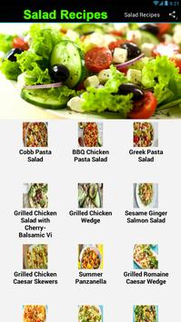 Salad Recipes apk screenshot