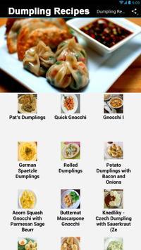 Dumpling Recipes screenshot 1