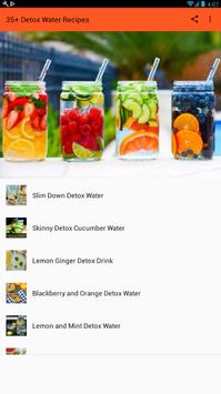 Detox Water Drinks - Best Detox Recipes ポスター