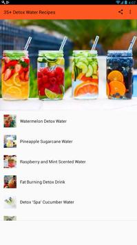 Detox Water Drinks - Best Detox Recipes スクリーンショット 1