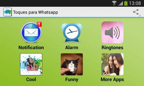 Toques para Whatsapp apk screenshot