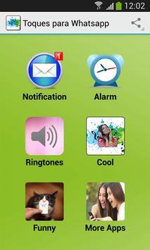 Toques para Whatsapp poster