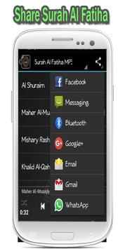 Surah Al Fatiha MP3 apk screenshot