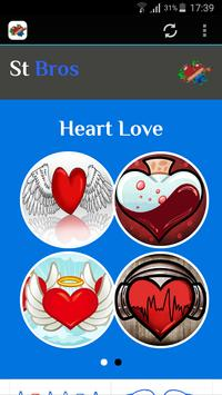 How To Draw Love Hearts poster