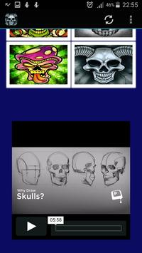 How To Draw Skulls screenshot 7