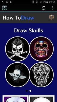 How To Draw Skulls screenshot 9