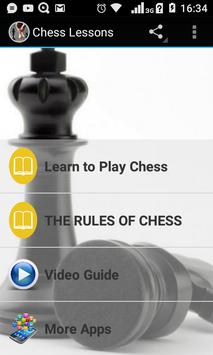 Chess Lessons poster