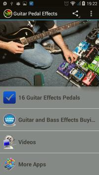 Guitar Pedal Effects poster