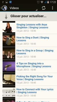 Singing Lessons screenshot 1