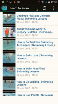 Swimming screenshot 1