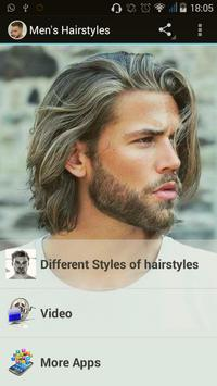 Men's Hairstyles poster