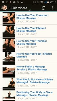 Shiatsu Massage screenshot 1
