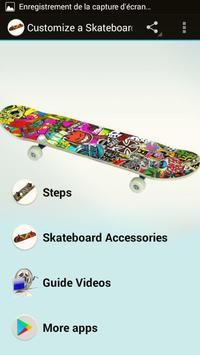 Customize a Skateboard poster