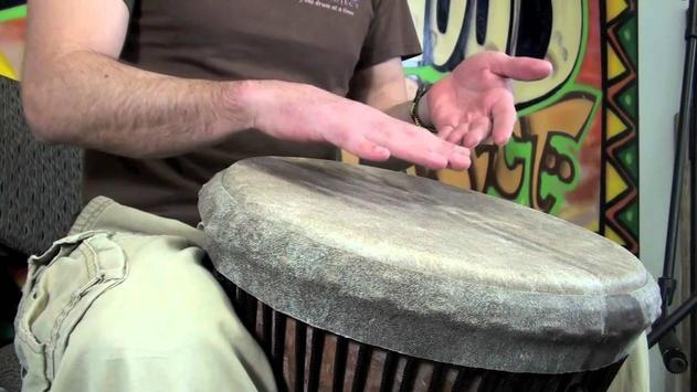 African Drum Lessons poster