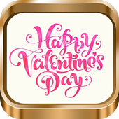 Messages for Valentin day icon