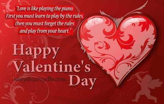 Messages for Valentin day screenshot 3