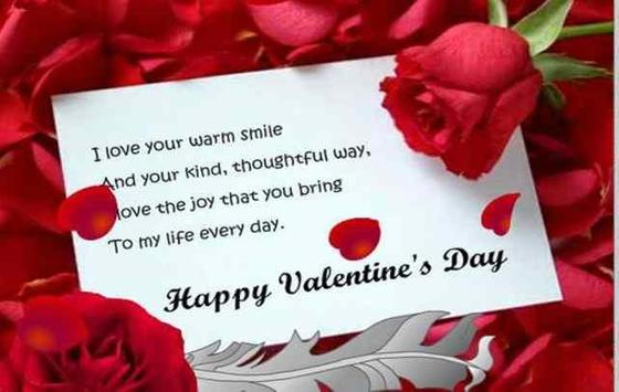Messages for Valentin day screenshot 5
