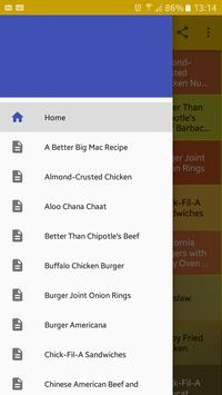 Fast Food Recipes poster