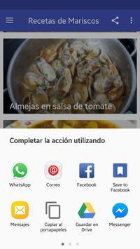 Mariscos Deliciosos apk screenshot