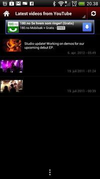 Confero Band screenshot 1