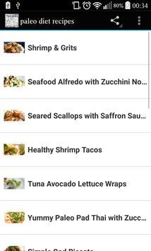 50+ Paleo Diet Recipes apk screenshot