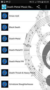 Death Metal Music Radio poster