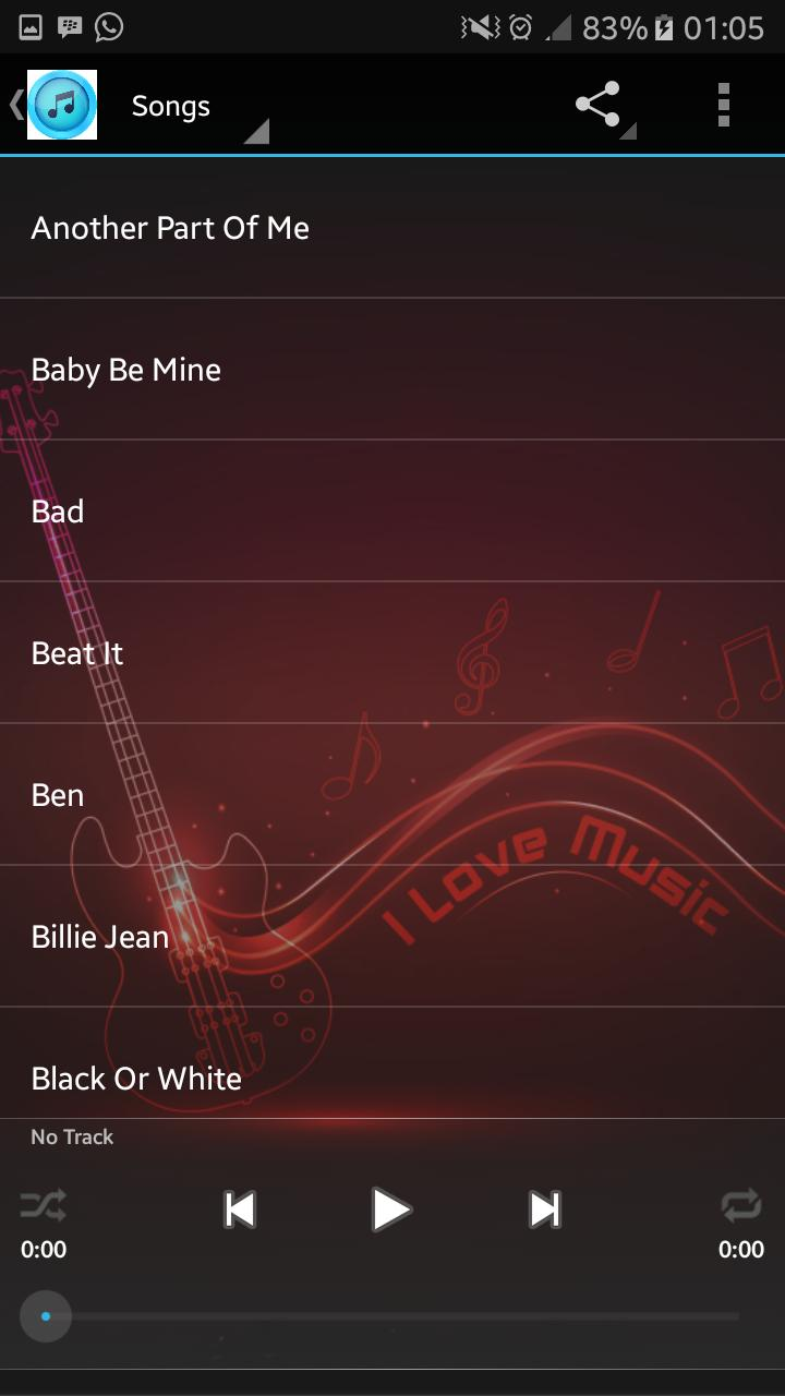 Michael Jackson Songs & Lyrics for Android - APK Download