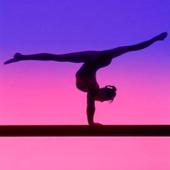 Gymnastics training icon