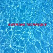 Swiming technique icon