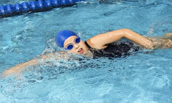 Swiming technique poster
