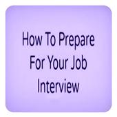 prepar for interview icon