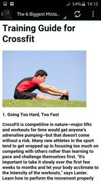 Training Guide for Crossfit screenshot 3