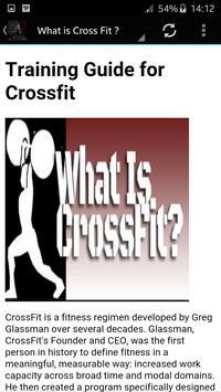 Training Guide for Crossfit screenshot 2