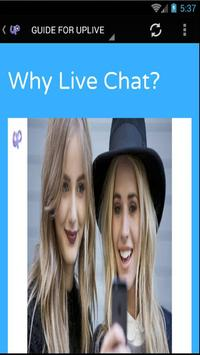 GUIDE FOR UPLIVE poster