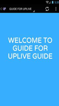 GUIDE FOR UPLIVE screenshot 2