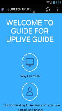 GUIDE FOR UPLIVE screenshot 5