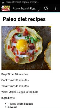 paleo diet recipes screenshot 1