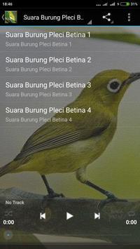 Suara Burung Pleci Gacor mp3 screenshot 1