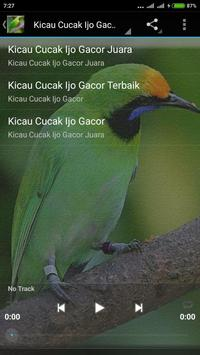 Suara Cucak Ijo Gacor mp3 screenshot 3