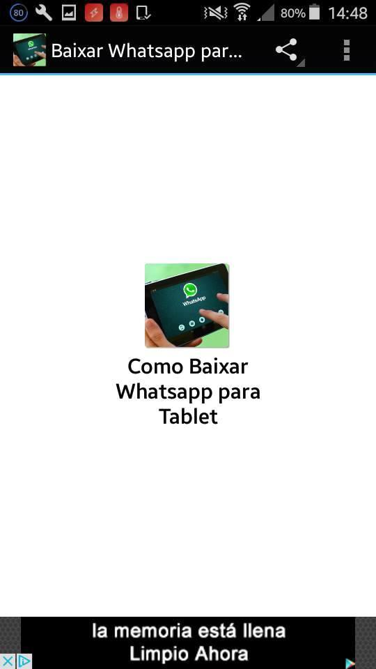 Install Whatsapp for Tablet for Android - APK Download