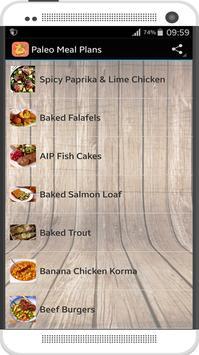 Paleo Meal Plans screenshot 1
