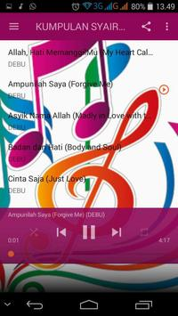 Lantunan Syair Syahdu screenshot 2