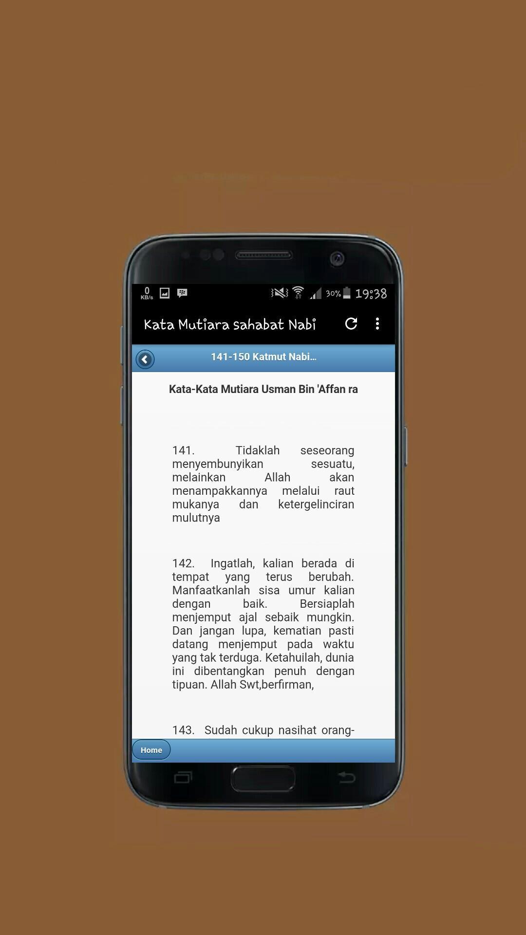 Kata Mutiara Sahabat Nabi Für Android Apk Herunterladen